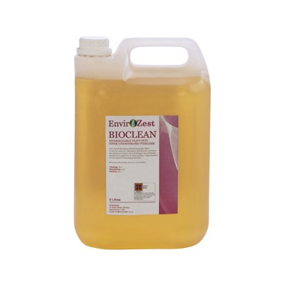 BIOCLEAN - Biodegradable Heavy Duty Super Concentrated Sterliser - 5Ltr