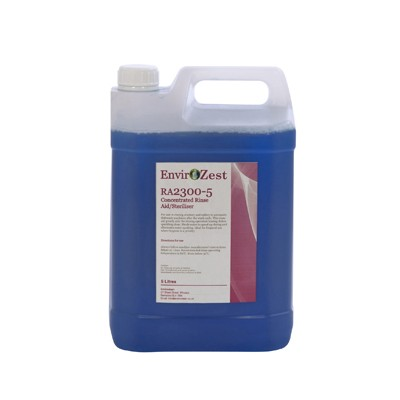 RA2300 - Concentrated Rinse Aid- 5Ltr