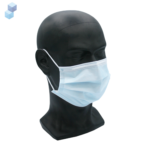 TYPE IIR  FLUID REPELLENT 3 PLY SURGICAL FACE MASK X 50
