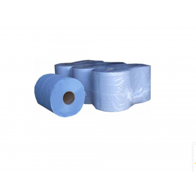 Centre Feed Rolls 2 Ply Blue 6 Pack